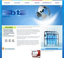 BT Products Web tasarımı